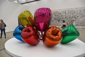 Una de las obras de Jeff Koons expuestas en The Broad en Los Ángeles.