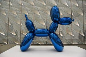 Qué hacer en Los Ángeles en 4 días: la escultura de perro de Jeff Koons