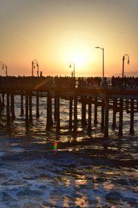 Qué hacer en Los Ángeles en 4 días: atardecer en Santa Mónica
