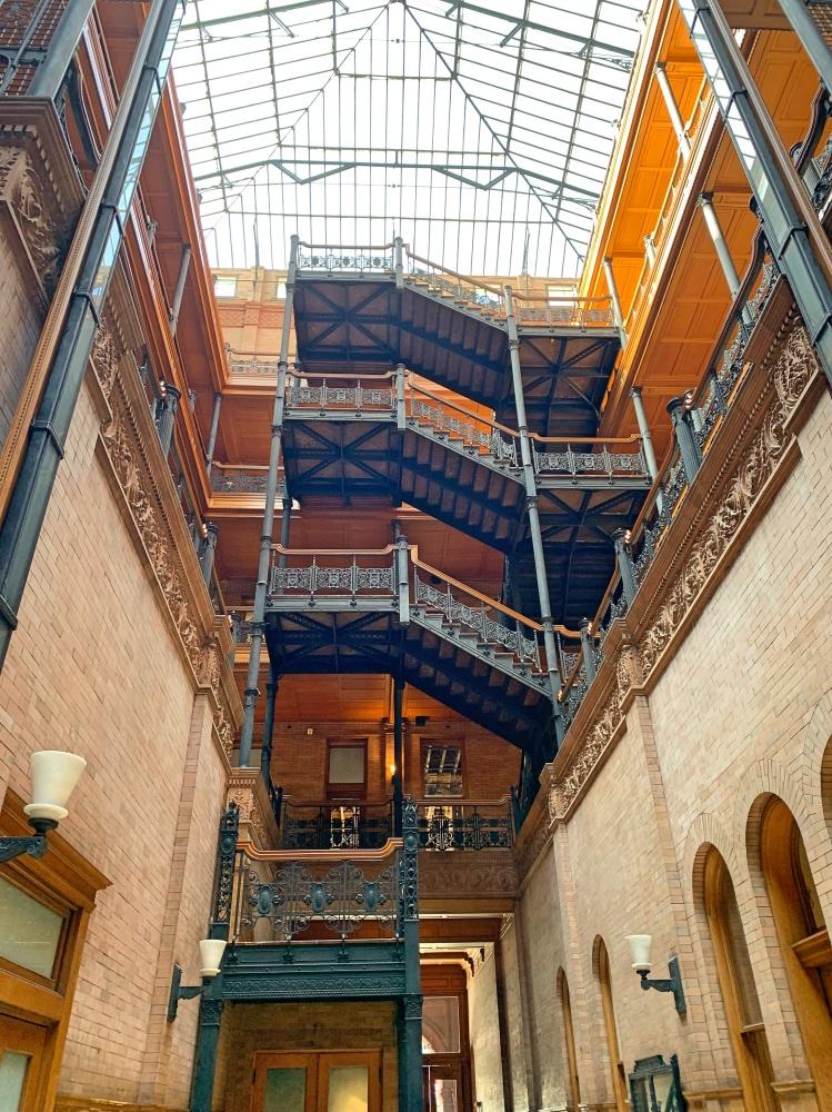Qué hacer en Los Ángeles en 4 días: Bradbury Building