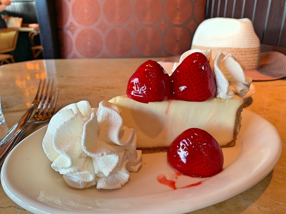Dónde comer en Los Ángeles: The Cheesecake Factory