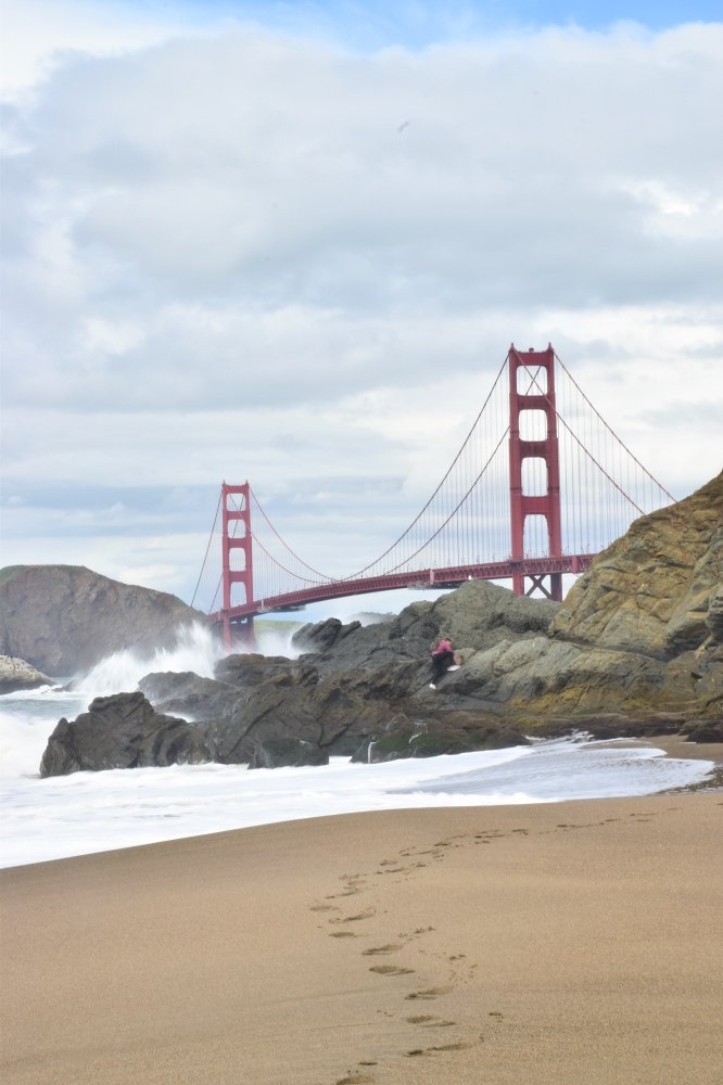 San Francisco en 3 días: Baker Beach