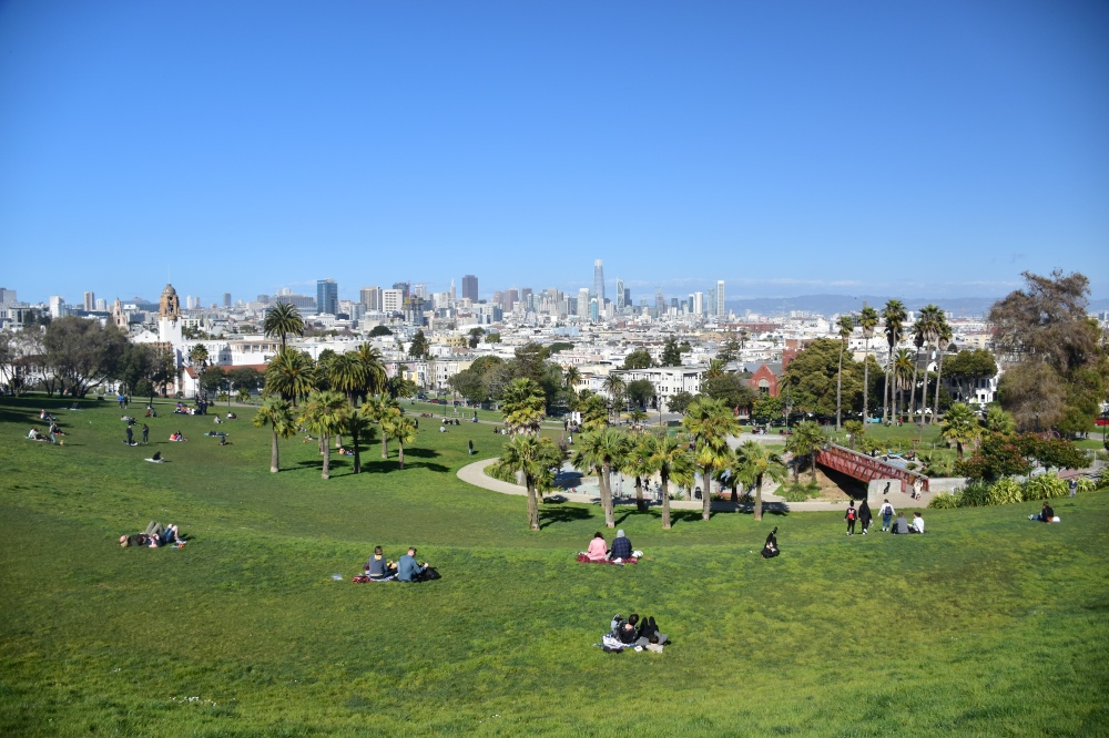 San Francisco en 3 días: Parque Dolores
