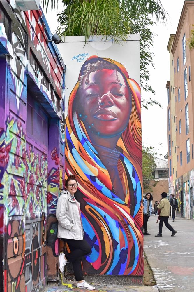 San Francisco en 3 días: grafitis en Balmy Alley