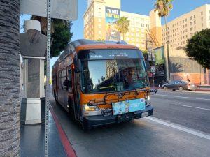 Moverse por Los Ángeles en transporte público