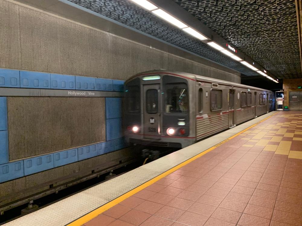 Cómo moverse por Los Ángeles en transporte público