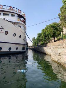 Viaje a Egipto por libre: basura en el Nilo