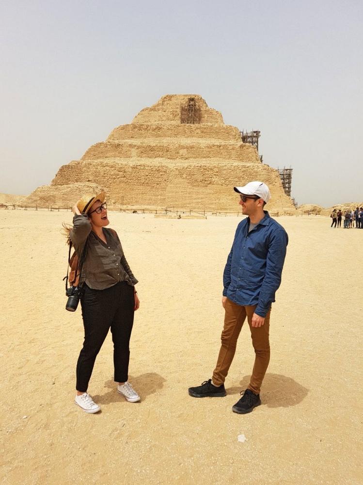 En Saqqara también comprobamos que es seguro viajar a Egipto por libre