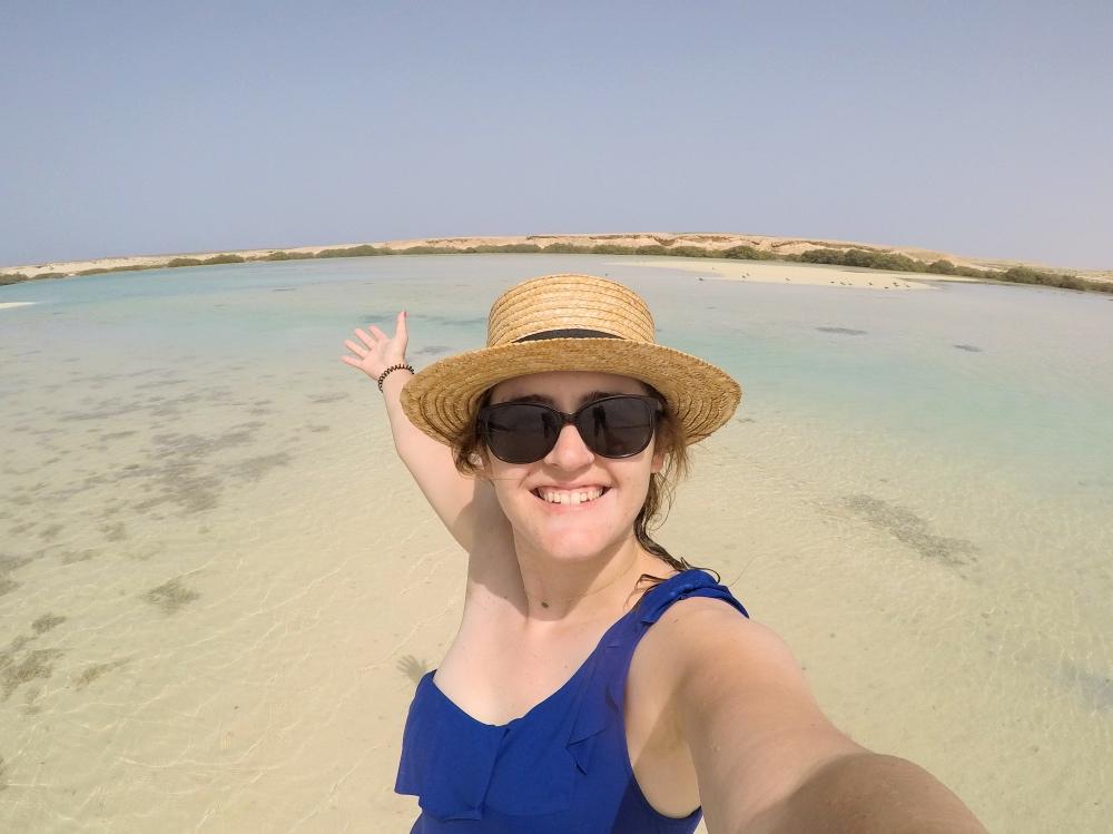 Sola en Egipto