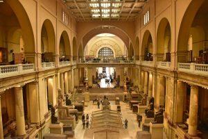 itinerario para un viaje de 15 días a Egipto por libre: museo egipcio Cairo