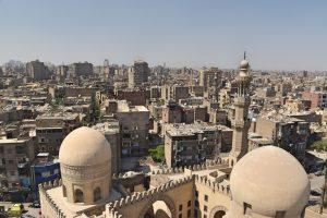 cosas que hacer en Egipto: ver El Cairo desde la Mezquita de Ibn Tulun
