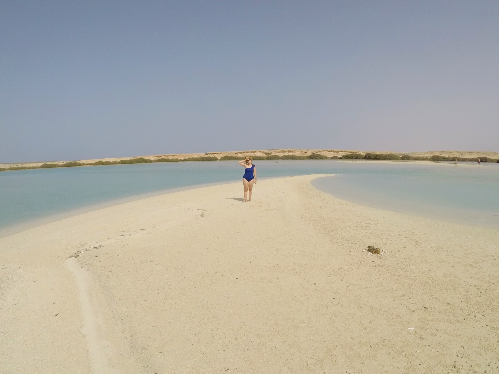 una de las playas paradisíacas de Marsa Alam