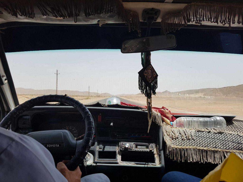 Cómo moverse por Egipto: furgoneta compartida