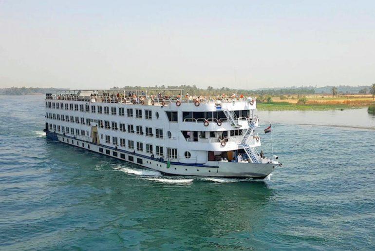 crucero Nilo civitatis barco