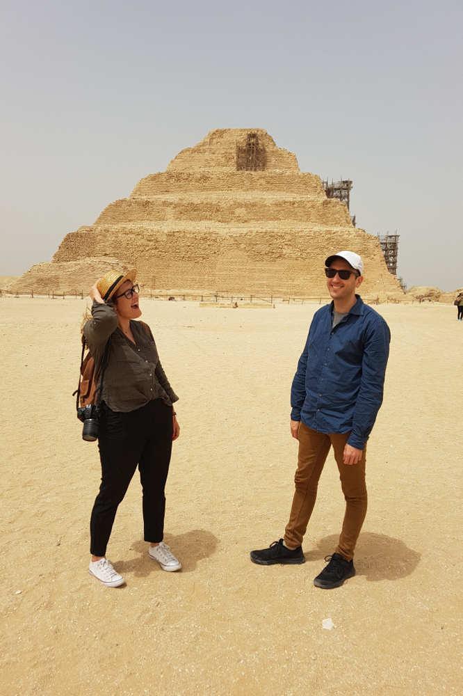 adrian carla pirámide Saqqara