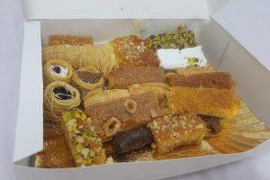 caja dulces típico egipcios