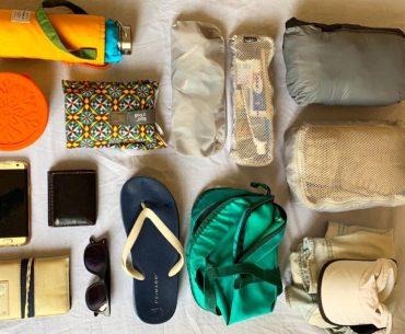 equipaje minimalista viaje
