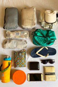 equipaje minimalista ligero