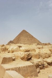 pirámide de Keops en Giza
