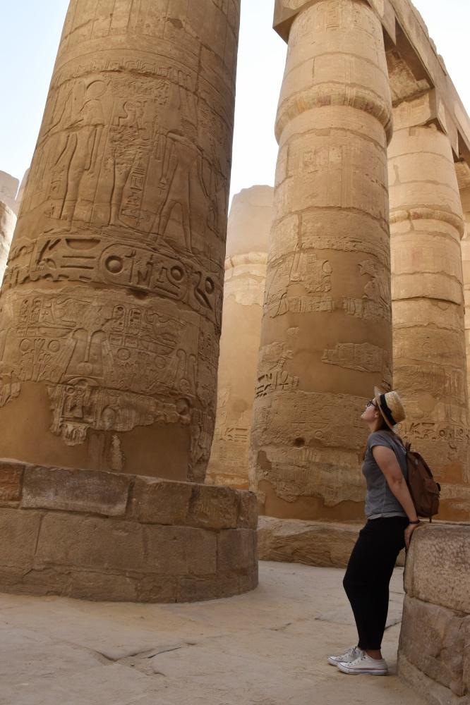 El templo de Karnak, uno de los mejores templos de Egipto
