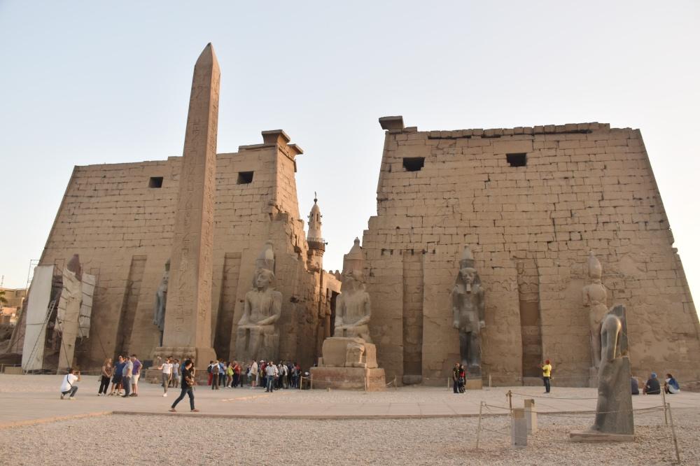 El templo de Luxor es uno de los mejores templos de Egipto