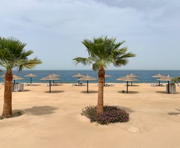 Playa privada en Hurghada