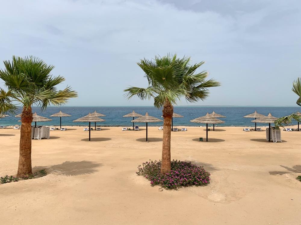 Playa privada en Hurghada