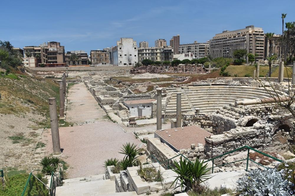 El sitio arqueológico Kom el Dekka