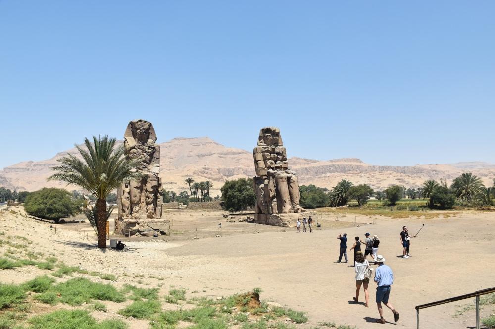 Qué hacer en Luxor: colosos de Memnón