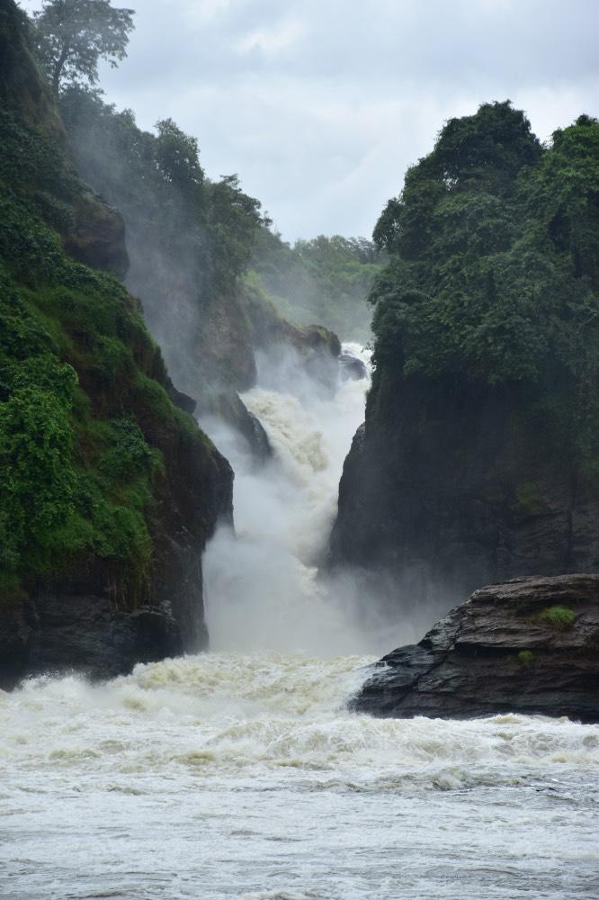 Cataratas Murchison en Uganda