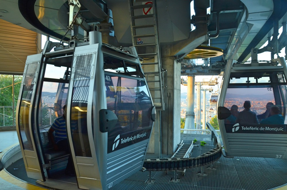 El teleférico de Montjuic