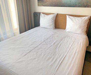 Dónde dormir en Bruselas: Nuestra habitación de hotel en Bruselas