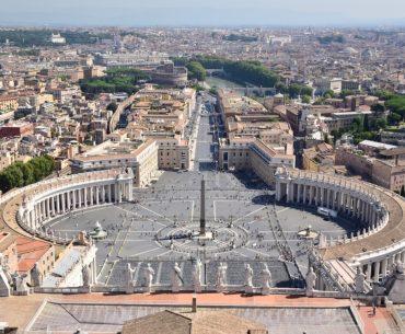 Los mejores miradores de Roma: La Plaza de San Pedro desde la Cúpula de la Basílica de San Pedro