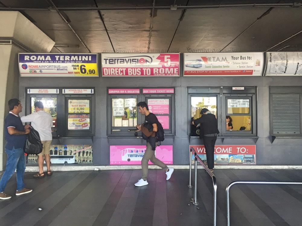Cómo ir desde el aeropuerto de Fiumicino a Roma