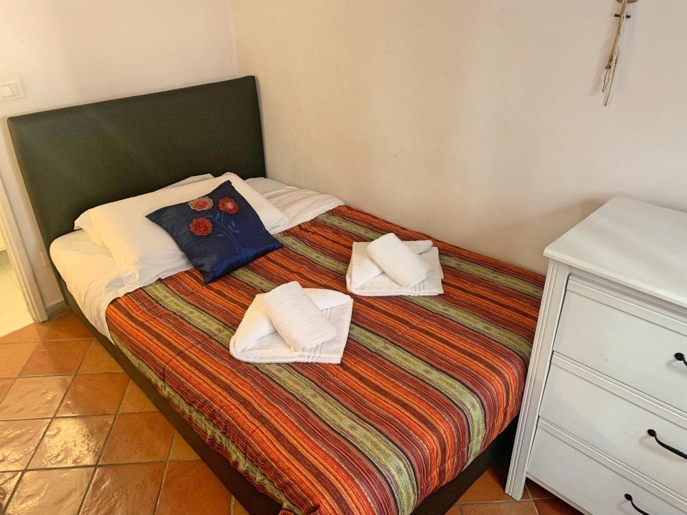 La habitación de mi apartamento en Florencia