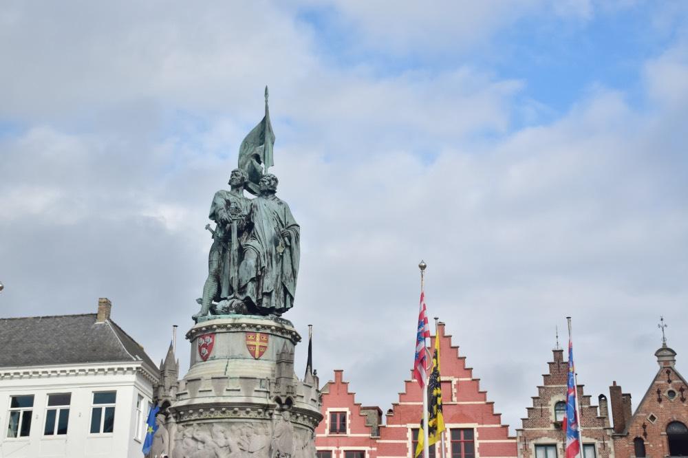 Qué hacer en Brujas en un día: Grote Markt