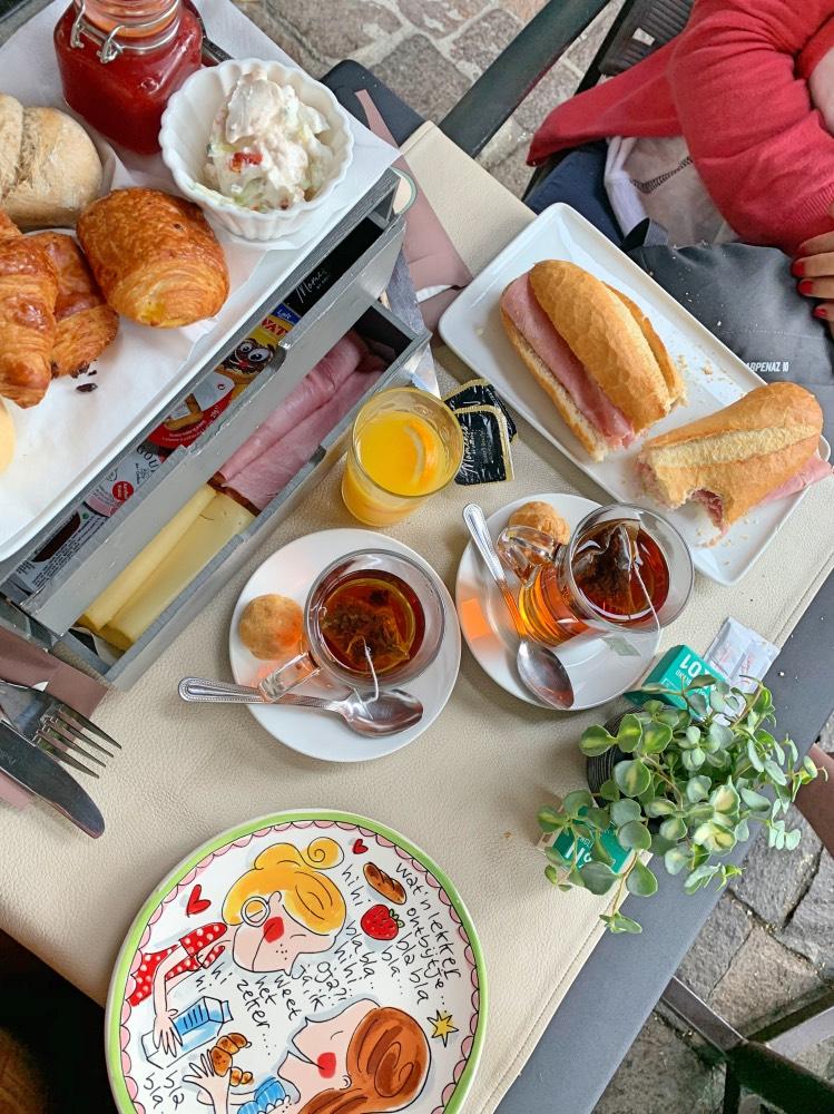 Nuestro desayuno completo en At Tattie's