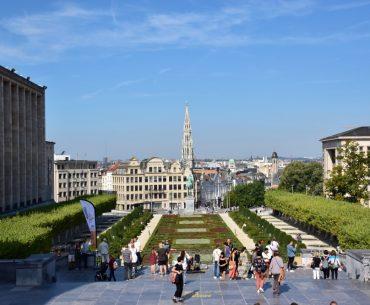 Bruselas desde el Monte de las Artes