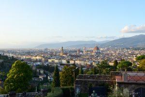 Vista de Florencia desde San Miniato al Monte