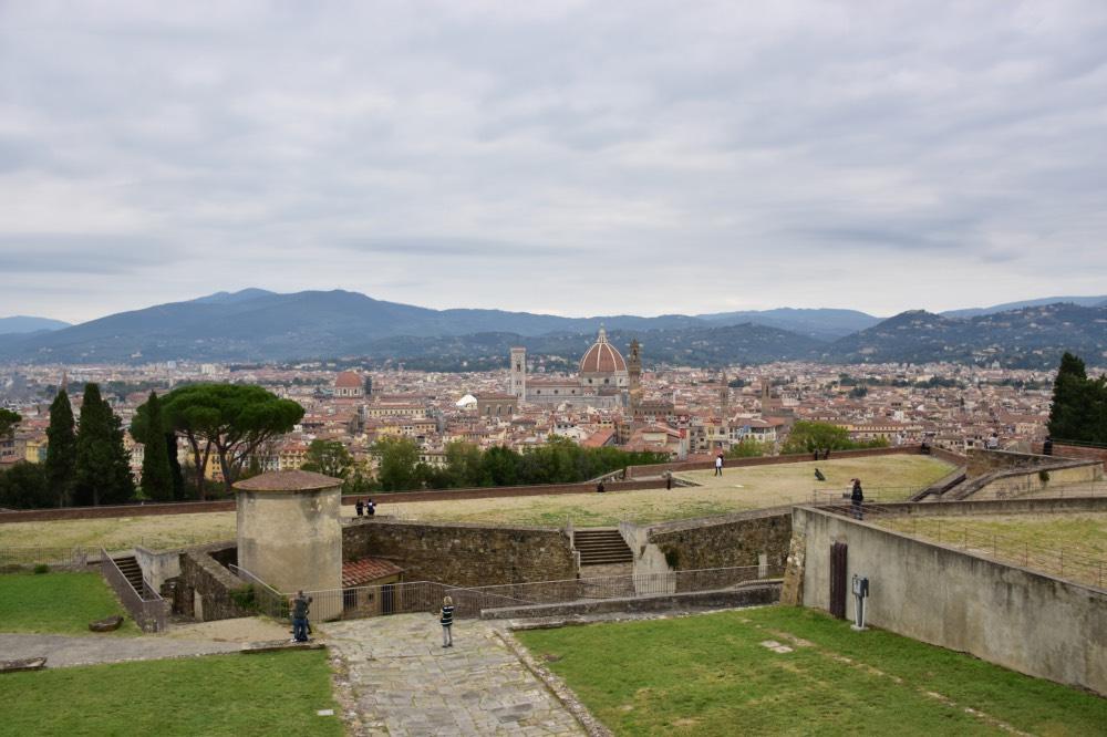 Mejores miradores de Florencia: Fuerte Belvedere