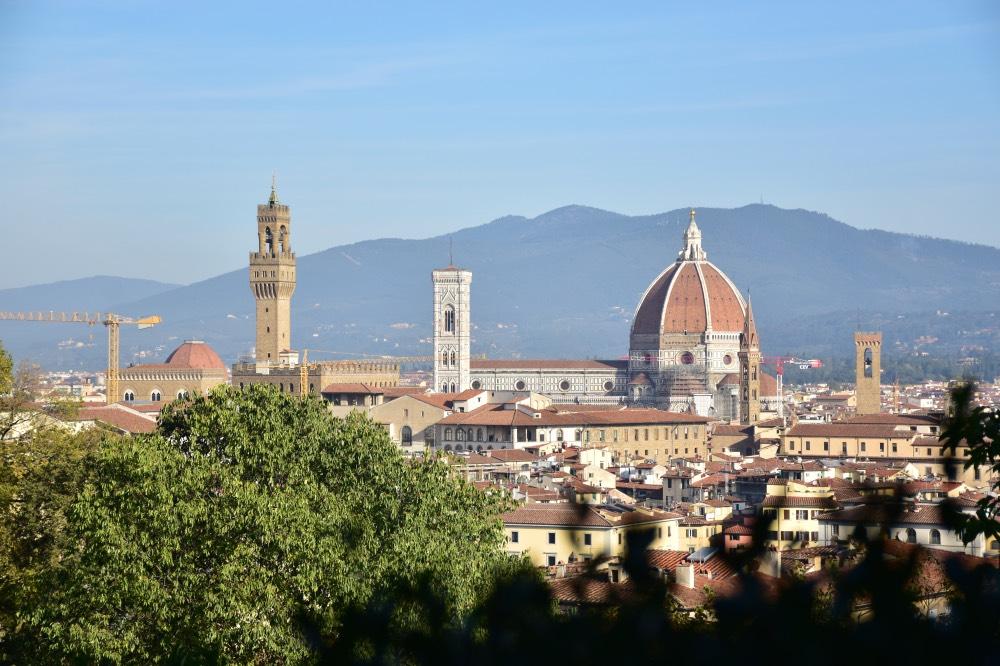 Mejores miradores de Florencia: Las vistas de la ciudad desde los Jardines Bardini