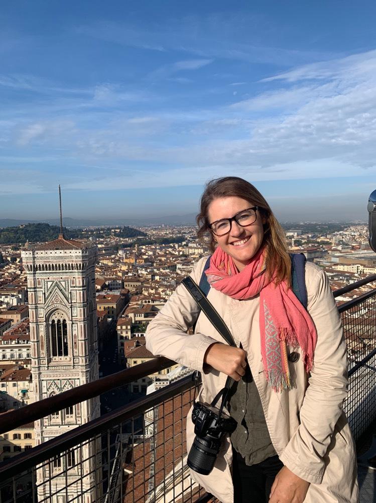 Preparativos para viajar a Florencia