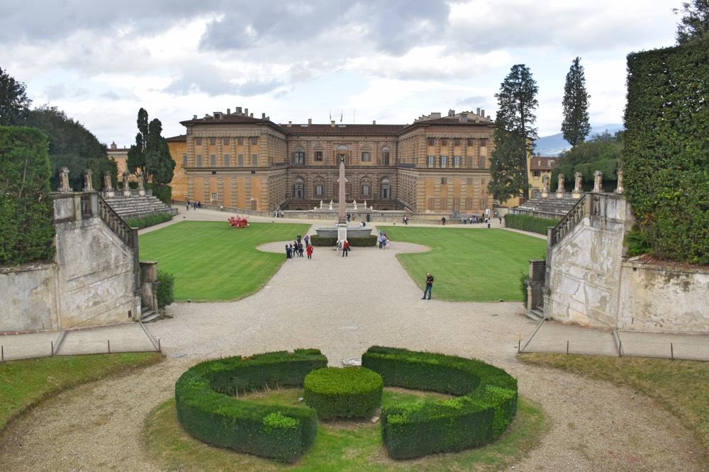 Florencia en 3 días: El Palacio Pitti desde los jardines Boboli