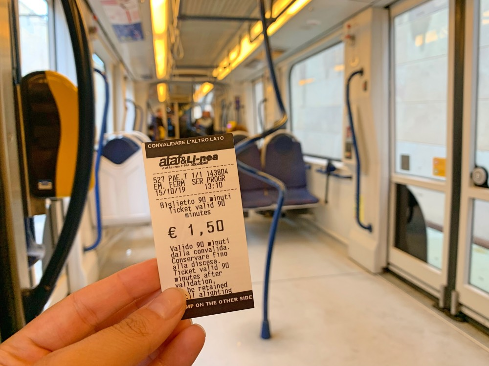 Presupuesto para viajar a Florencia: transporte público