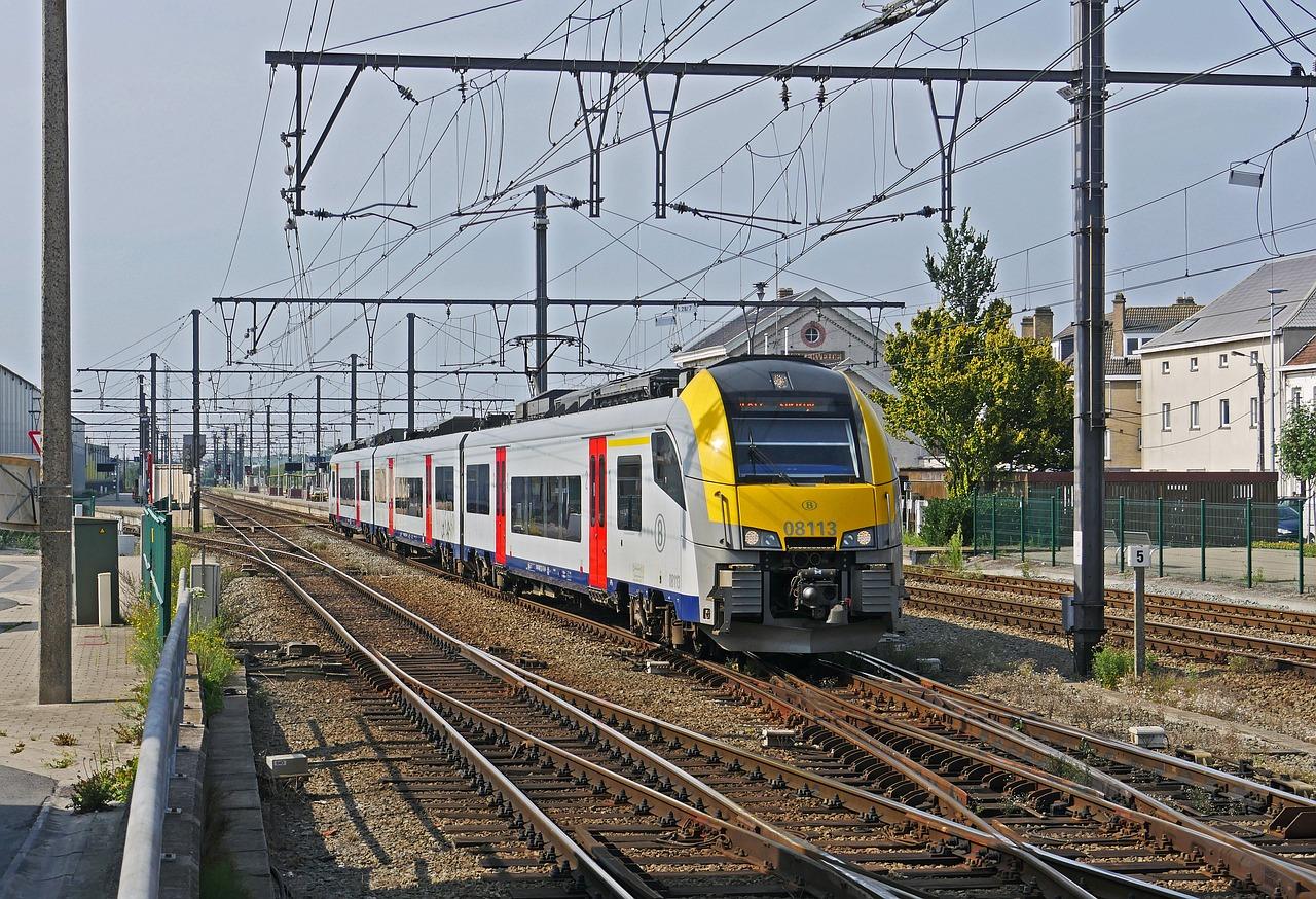moverse por Bélgica en transporte público
