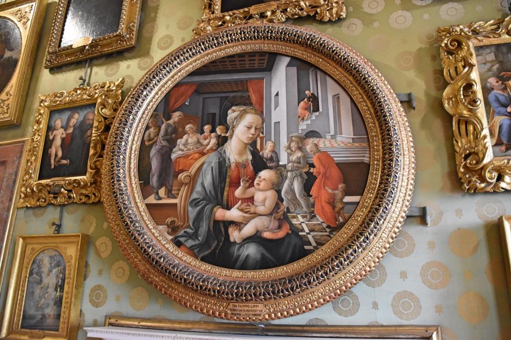 La Virgen con el Niño Jesús, de Filippo Lippi