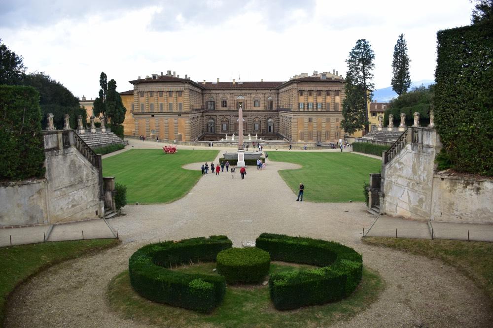 Visitar el Palacio Pitti y los jaridines Boboli