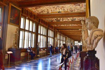 Visitar la Galería Uffizi