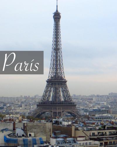 Guía de viajes de París slider