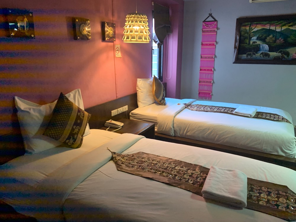 Uno de nuestros alojamientos en Tailandia, concretamente en Chiang Mai
